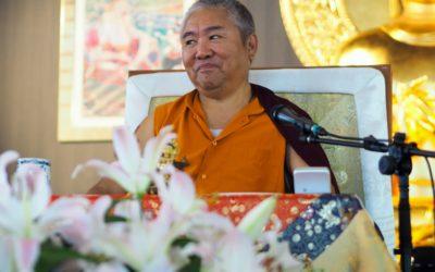 Visite de Nendo Rinpoché