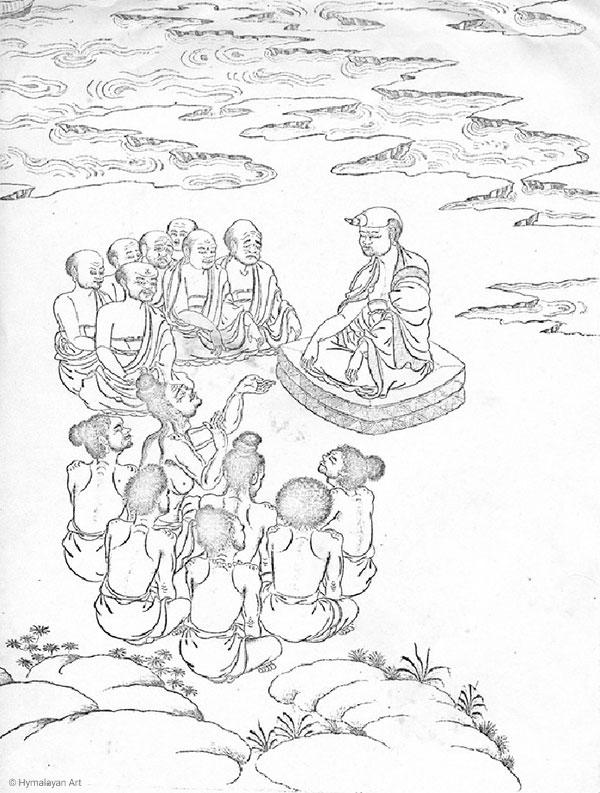 Aryadeva : disciple et successeur de Nagarjuna