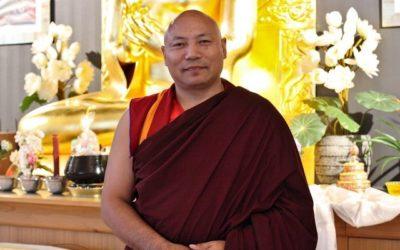 «Nous irons donc à l'essentiel» – Visite de Khen Rinpoché Samdup