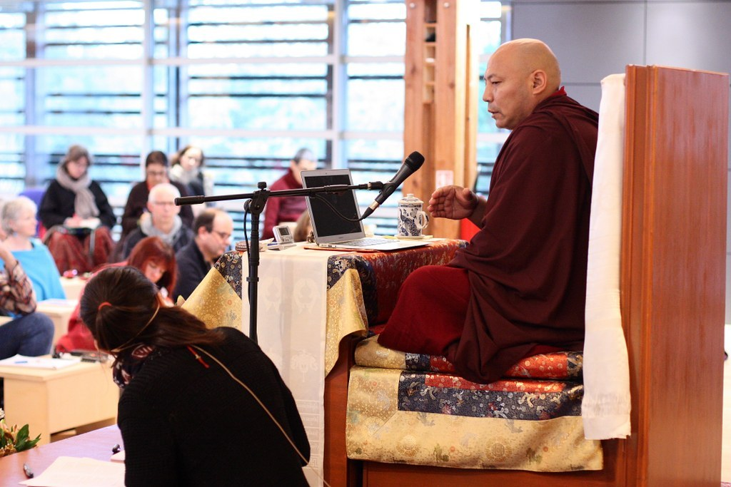 Visite de Khen Rinpoché Samdup
