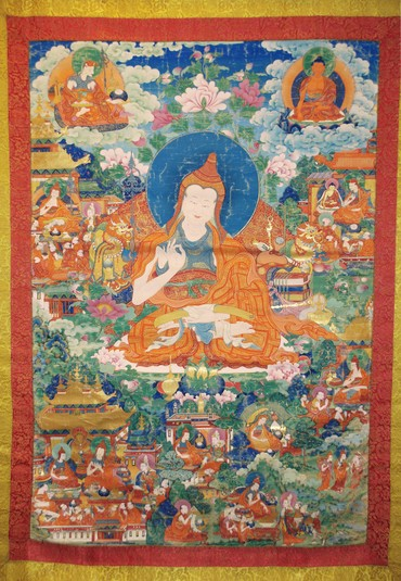 Shantarakshita (725 – 788) © Himalayanart.org