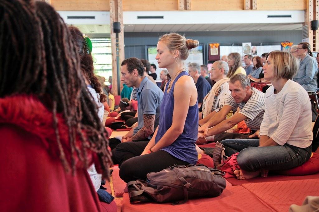 Détente, méditation, attachement et compassion