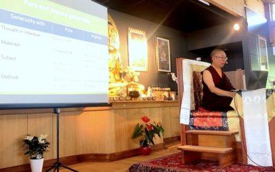 Tres días, un maestro y seis paramitas – Visita de Shangpa Rimpoché