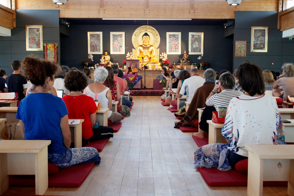 Retraite de Tara avec lama Nyigyam