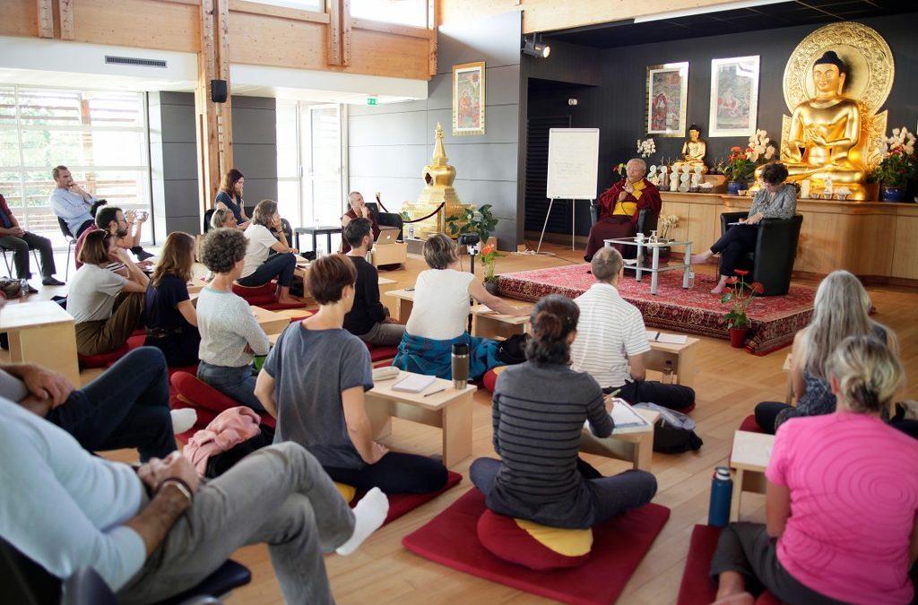 Premier forum bouddhisme et vie professionnelle – Des pistes, des ressources et une suite